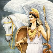 Athena Greek Goddess of Strategy