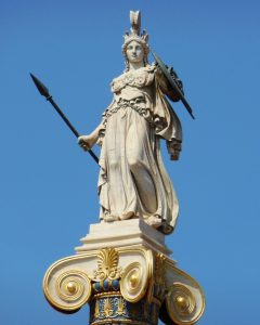 Athena as a Female Goddess