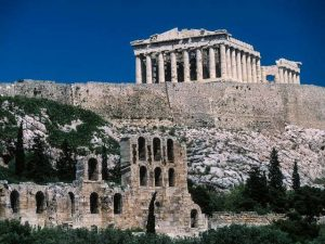 Ancient Greece Landmarks Greek ruins and ancient buildings