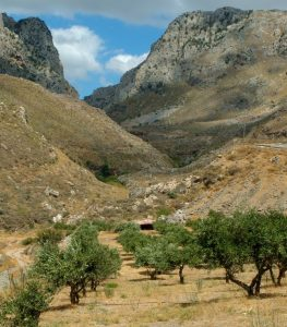 Ancient Greek Mountains