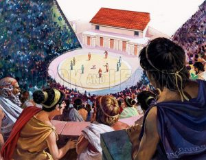 Ancient Greece Theatres