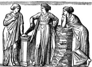 clothes in ancient Greece